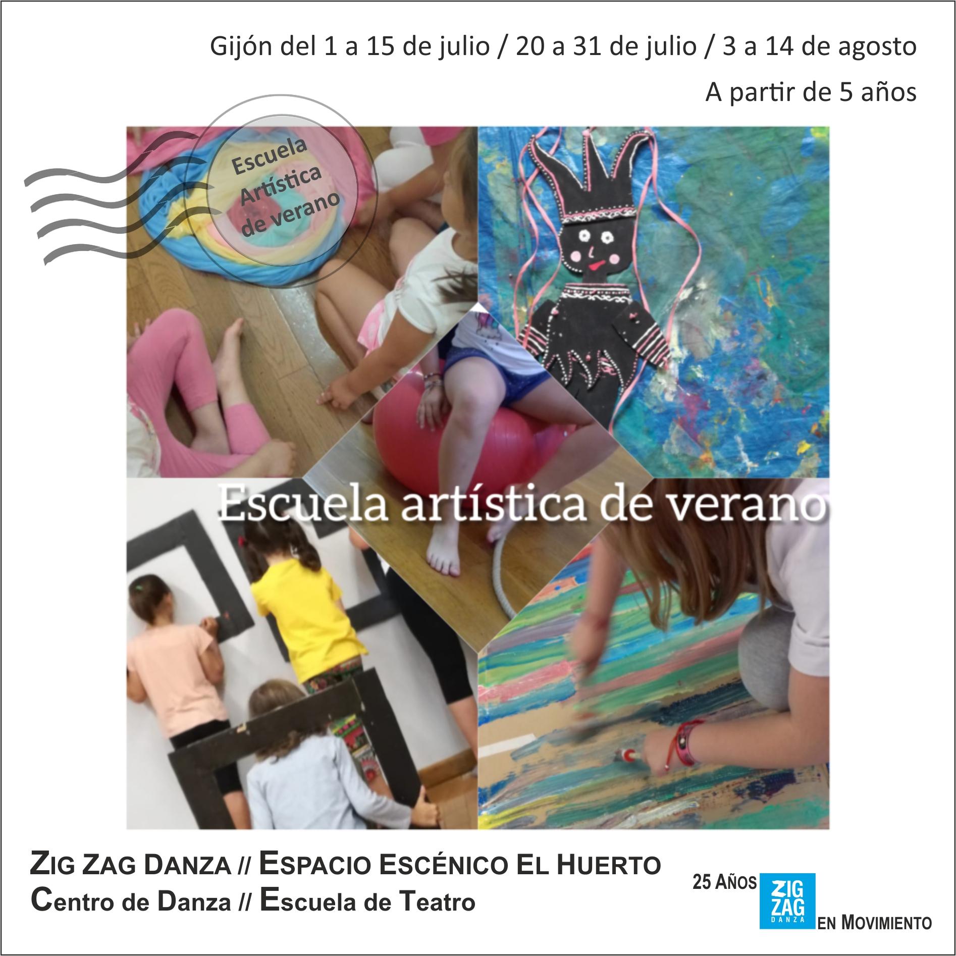 Escuela de verano Zig Zag Danza