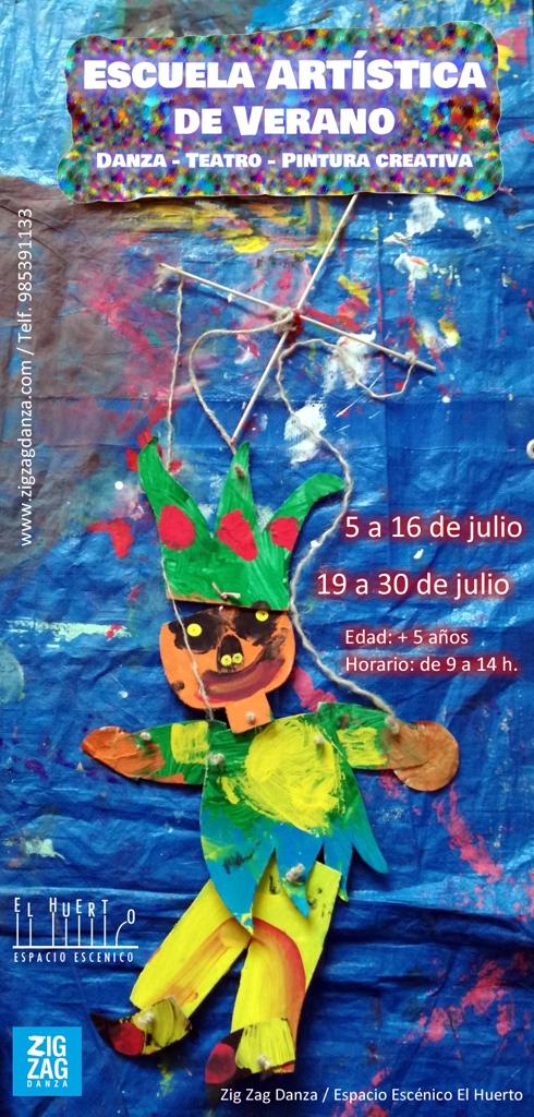 Escuela artística de verano niños